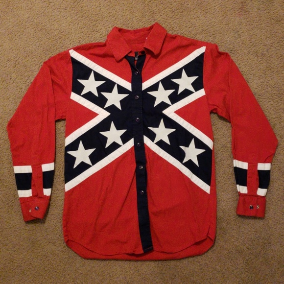 western express shirts mens vintage confederate flag s poshmark